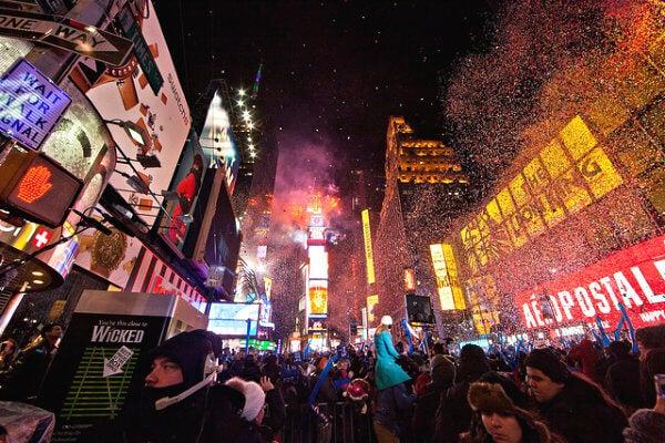 nueva york en fin de año