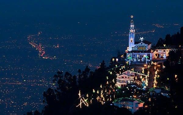Christmas in Bogota