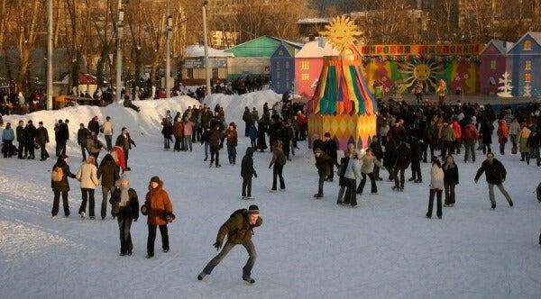 Parque Gorki, Moscú