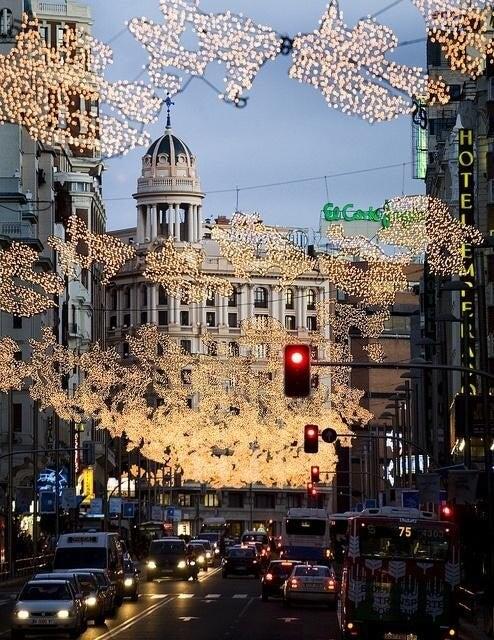 Christmas in Madrid