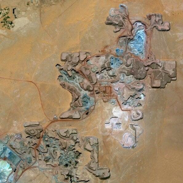 Uranium mine, Niger