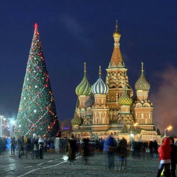 Navidad Moscu