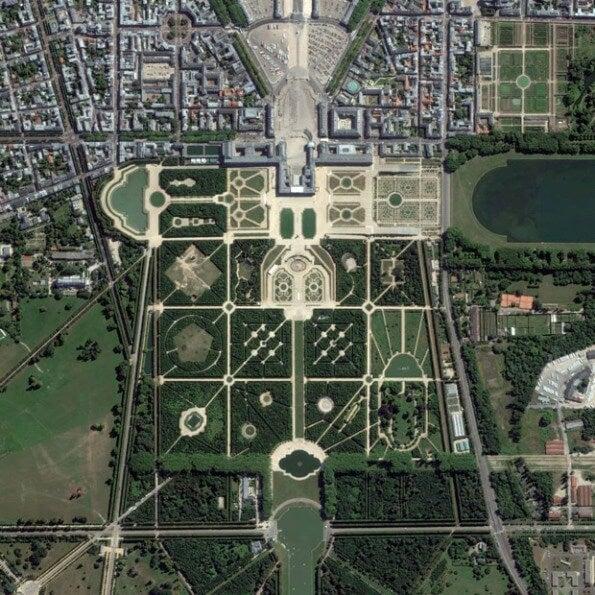 Palacio de Versalles en Versalles, Francia