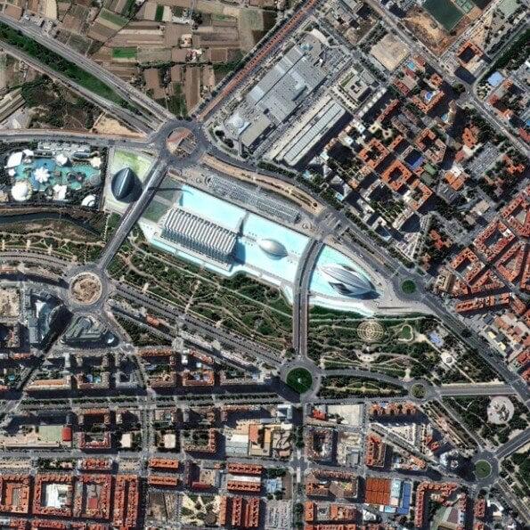 Palau de les Arts Reina Sofia and Gulliver Park, Valencia