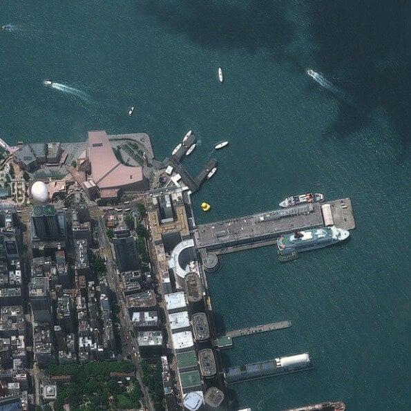 Bahía de Hong Kong, China