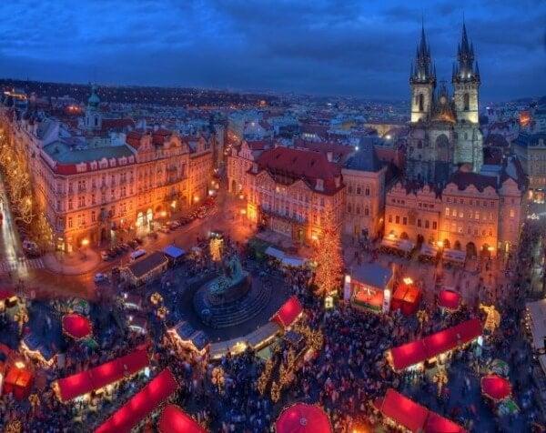 Navidad Praga