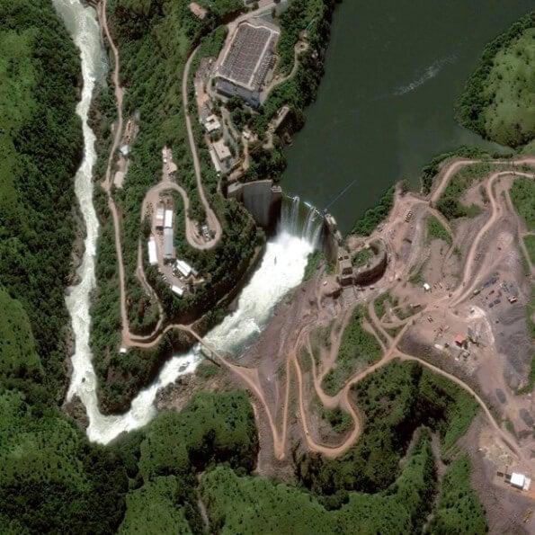 The Cambambe Dam, Angola