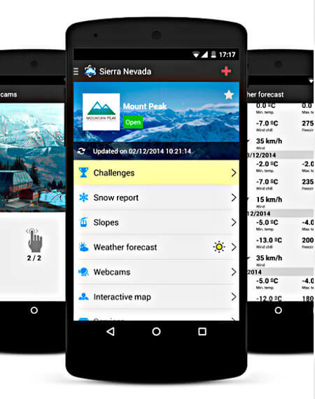Skitude, app para esquiadores