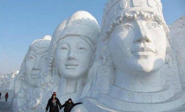 esculturas nieve 13