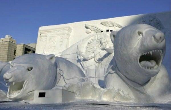 esculturas nieve 17