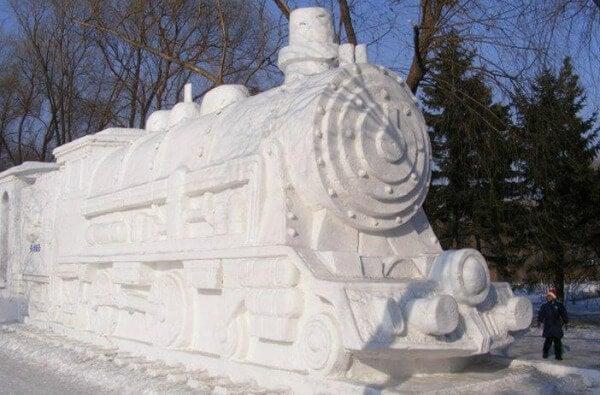 esculturas nieve 3