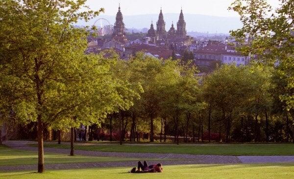 Parque Bonaval Santiago de Compostela