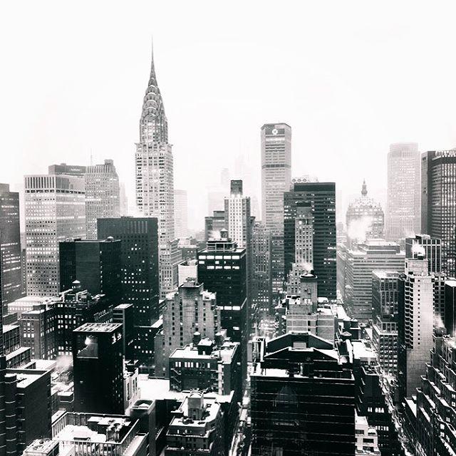 Nueva york con nieve