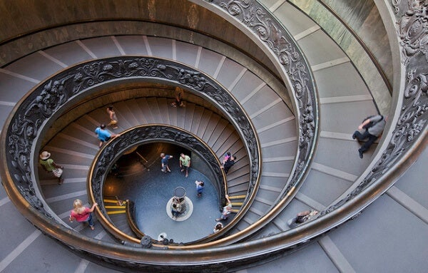 Staircase of the Vatican Museum