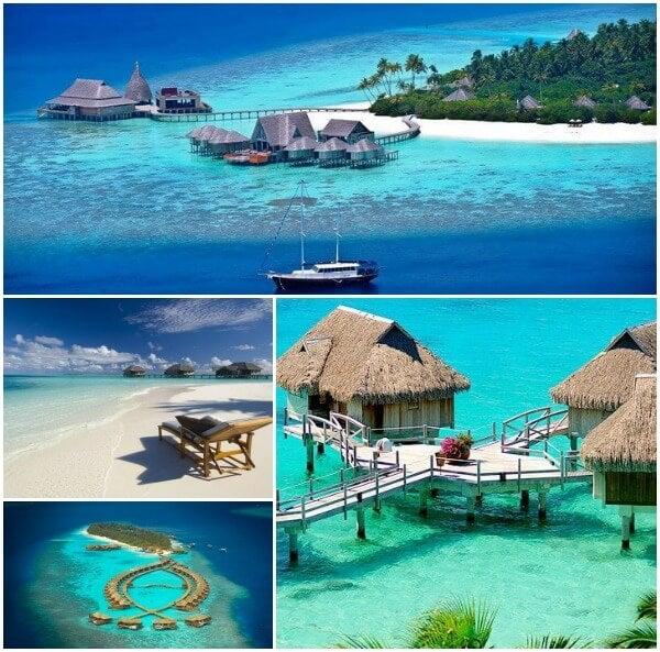 Maldivas collage
