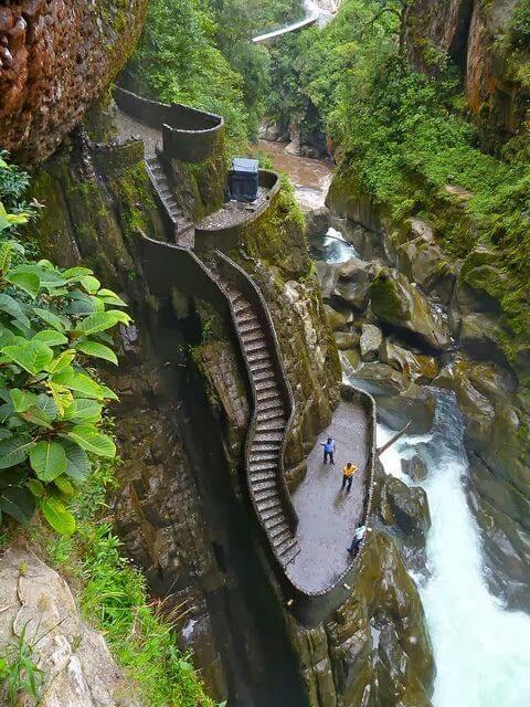 Pailon del Diablo, Équateur