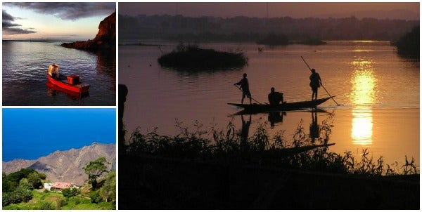 Saint Helena, Angola collage