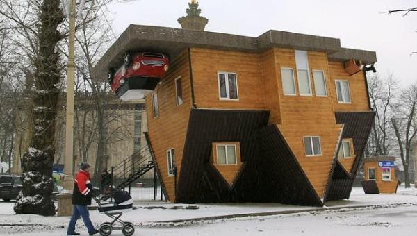 Moscú, casa al revés
