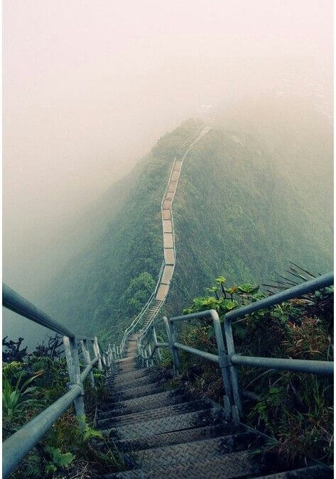 Haiku Stairs, Hawai