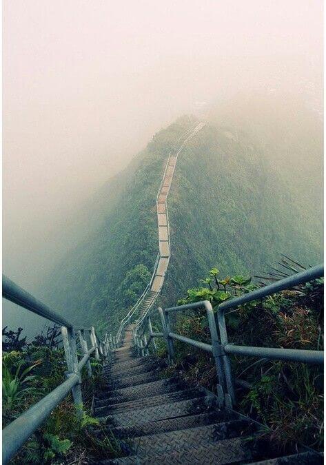 escalera Haiku