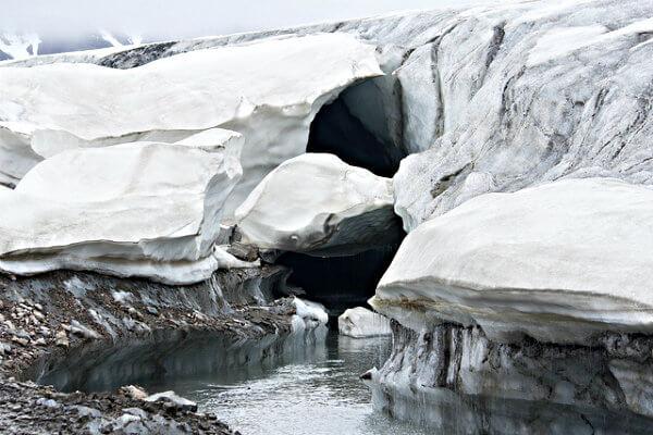 glaciar noruega
