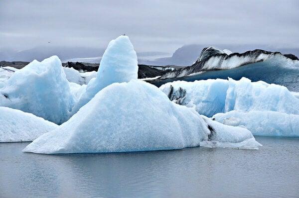 glaciar jokulsarlon en islandia