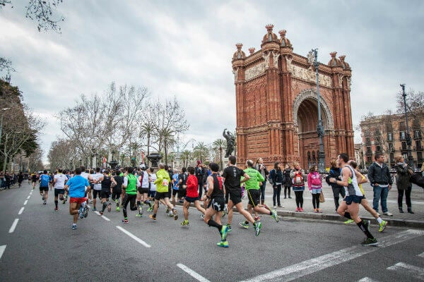 eDreams Marathon in Barcelona