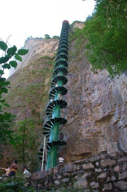 Taihang Mountains, China