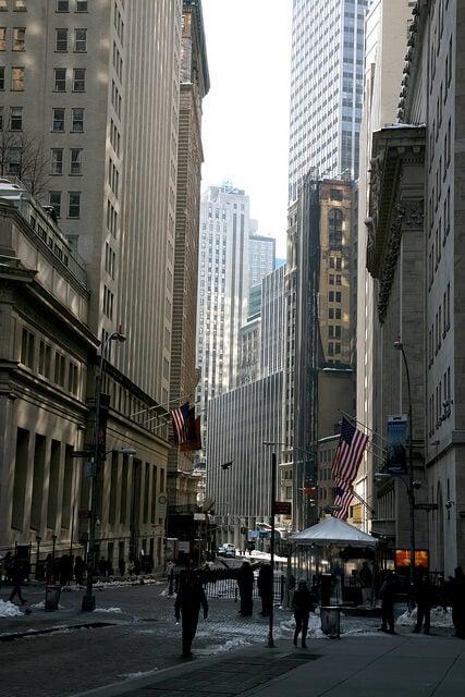 calle nassau en nueva York