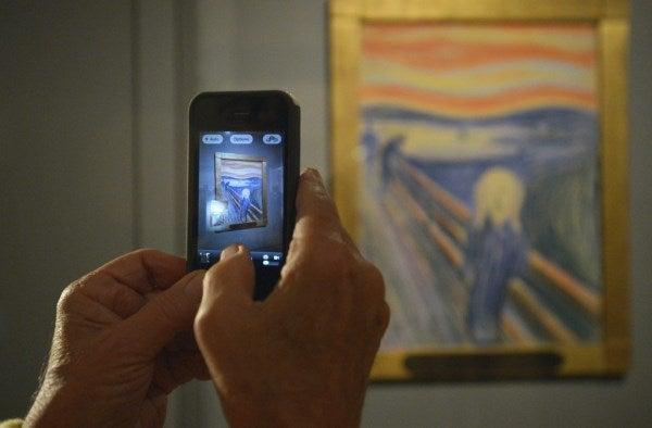 El Grito, Munch