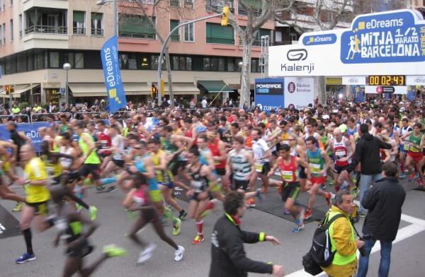 carrera eDreams Mitja Marato Barcelona