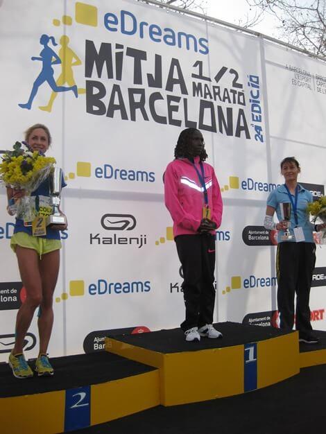 ganadoras eDreams Mitja Marato Barcelona
