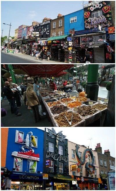 Borough Market y Camdem Market