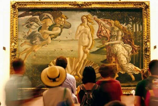 El Nacimiento de Venus, Boticcelli