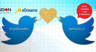 #NoodlesAndLove, la nueva Twitter Party de eDreams y UDON