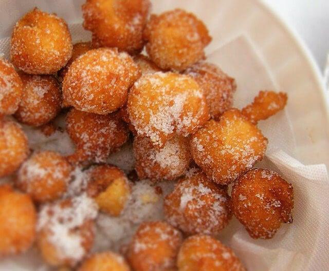 castagnole dulce de carnaval