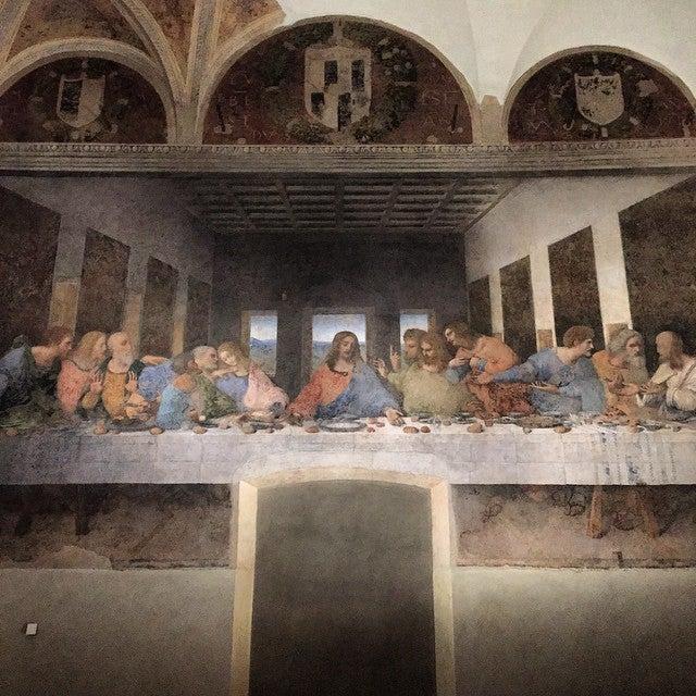 cuadro de la ultima cena