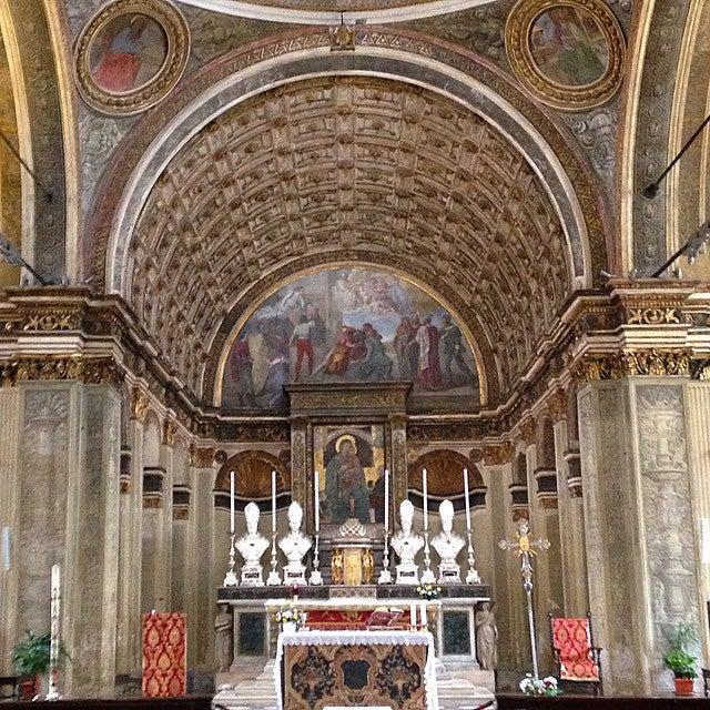chiesa-di-san-satiro en Milán