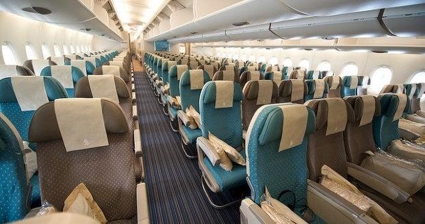 Como elegir el mejor asiento de avión