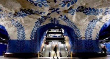 Las estaciones de metro más espectaculares de Europa