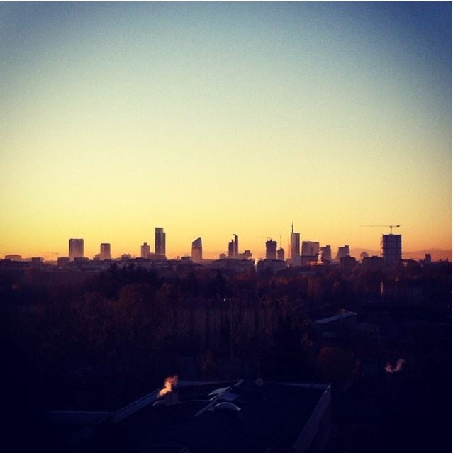 skyline de milán