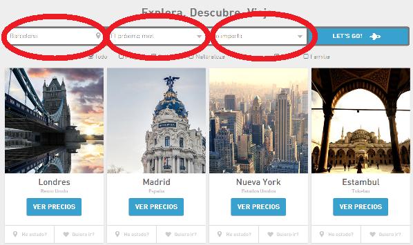 domingo! social travel app eDreams