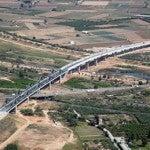 Viaductos sobre el río Llobregat: San Boi y El Prat
