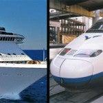 Tarifa conexión tren + cruceros