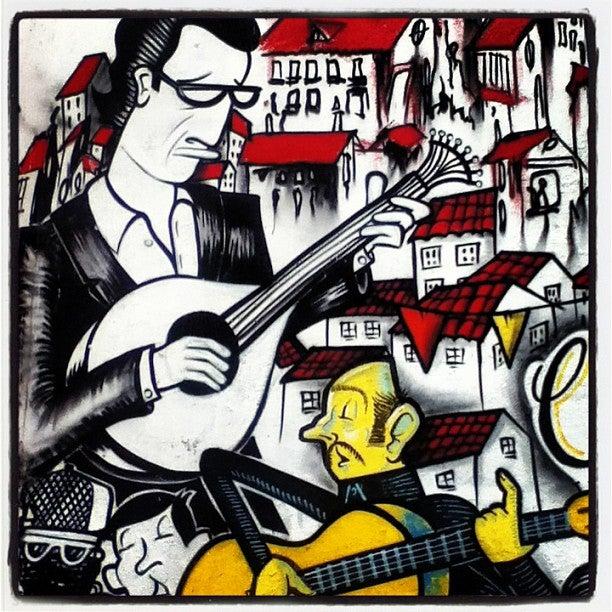 25 cosas que hacer en Oporto. grafitti de oporto
