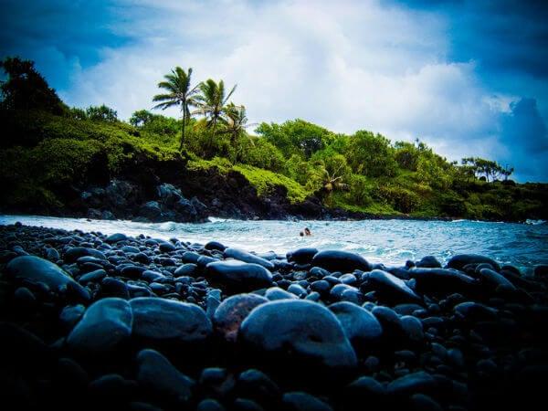 Playa piedras maui hawai