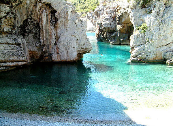 Playa stiniva croacia