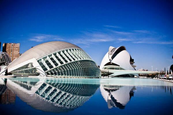 ciudad de las artes y las ciencias valencia. 9 lugares que visitar en Valencia