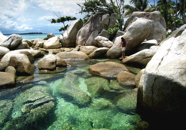playa Bangka Belitung indonesia