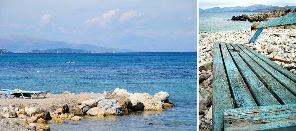 playa corfu grecia
